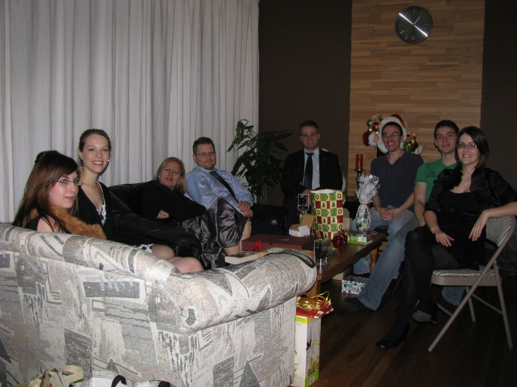 Group during Christmas Party